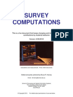 BRH Survey Comps