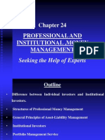 Chapter 24 Professional and Institutional Money Management