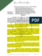 INVALIDAÇÃO DE ATOS SEGURANÇA JURÍDICA