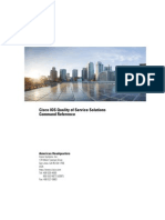 Cisco IOS Quality of Service Solutions Command Reference