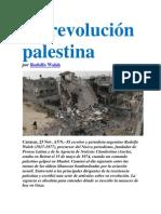 La revolución palestina por Rodolfo Walsh
