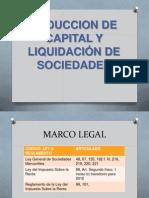 ISR Reduccion de Capital