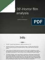 'Case 39'- Horror Film Analysis (Finished)