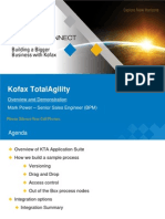 3.1_Kofax Partner Connect 2013_KTA Round Trip Demonstration