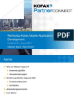 3.4_Kofax Partner Connect 2013_Workshop Kofax Mobile Application Development