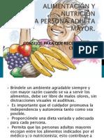 Presentacion de Alimentacion y Nutricion