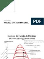 Analise política Modelo Multidimensional