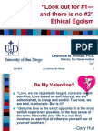Ethical Egoism (PPT)