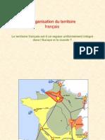 L'organisation du territoire français croquis
