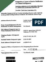 Designated Copyright Agent