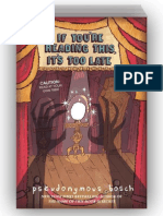 If You're Reading This, It's Too Late by Pseudonymous Bosch (SAMPLE)