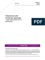Clearances and Conductor Spacings
