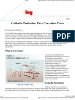Cathodic Protection Cuts Corrosion Costs - Print This Page