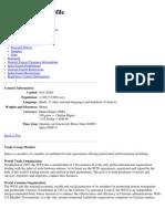 India Trade Profile