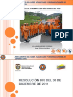 Capacitacion Resolucion870 de 2011, Creacion de Juntas y Representación Legal