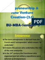Entrepreneurship New Venture Creation31module1712 110909070051 Phpapp01