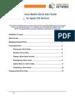 Technician Mobile Quick Start Guide iOS