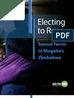 Electing to Rape