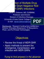 MDR GNR Prevention