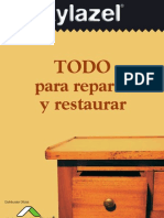 Xylacel Restaurar Reparar Madera