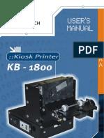 Manual Impresora de Kiosko Bematech kB 1800.pdf