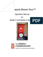 Minneapolis Blower Door Manual