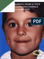 Teste Pt Evaluarea Copiilor Cu Dizabilitati