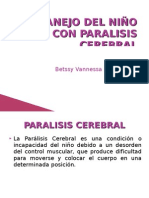 Manejo Del NiÑo Con Paralisis Cerebral