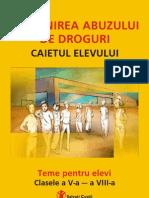 Brosura v-VIII Caiet Elev[1]Droguri