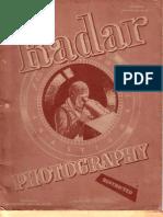 Radar Photography