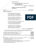 Subiect Simulare 1-Ev.nat. 2013