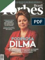 Revista Forbes - O Brasil quer ir para as alturas