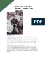 Nicolae Labis-Nu plângeţi