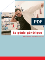 Brochure Le Genie Genetique