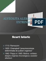 Alveolita alergicĂ extrinsecĂ