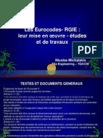 Projet Eurocodes 2010 Tgx 2010