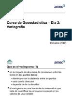 75122164 Curso de Geoestadistica 2 Variografia