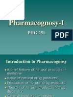 Pharmacognosy I (Part 1)
