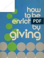 How to Be Enriched by Giving - Lindsay