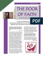 The Door of Faith - February 2013