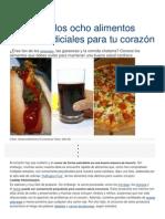 Alimentos Mas Perjudiciales Al Corazon