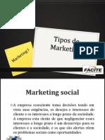 Tipos de Marketing 30 de Set