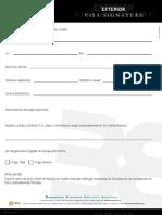 Declaracion de Aceptacion Signature