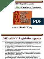 ASBCC Policy Agenda 2013