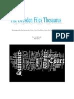 dresden files thesaurus printable version