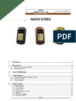 Considerazioni Utillizzo ETREX 30 Rev03