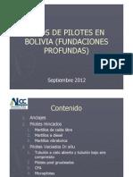 Tipos de Pilotes en Bolivia Septiembre 12 [Modo de Compatibilidad]