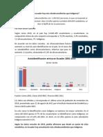 Reporte Censo Grupos Etnicos