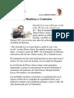 Influencias, Mentiras y Contratos. Por Gustavo Gorriti