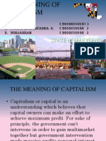The Winning of Capitalism1